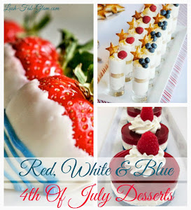 Delicious Red, White & Blue Fourth Of July Dessert Ideas.