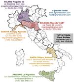 Migranti LGBT: indirizzi e contatti