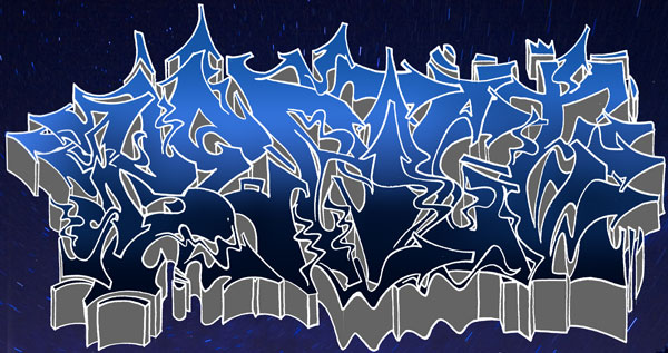 black graffiti wallpaper. sketch graffiti alphabet lack