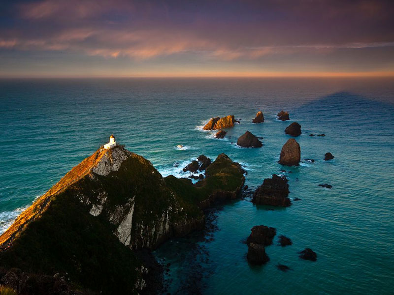 Picture Of The Day Nugget Point Lighthouse New Zealand