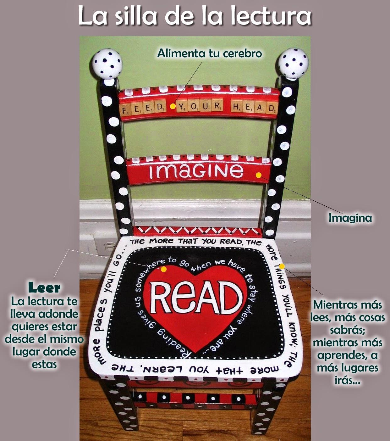 Ideas para el aula for Sillas para lectura