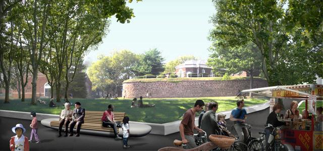 Openart west 8 il progetto e la riqualificazione dello for Ville architetti famosi