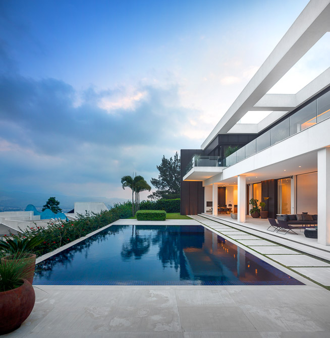 Swimming pool in Modern Jaragua Residence