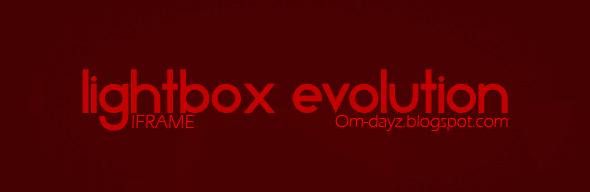 Jquery Lightbox Evolution -  Iframe