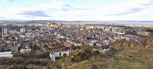Edinburgh Overview Salisbury Crag