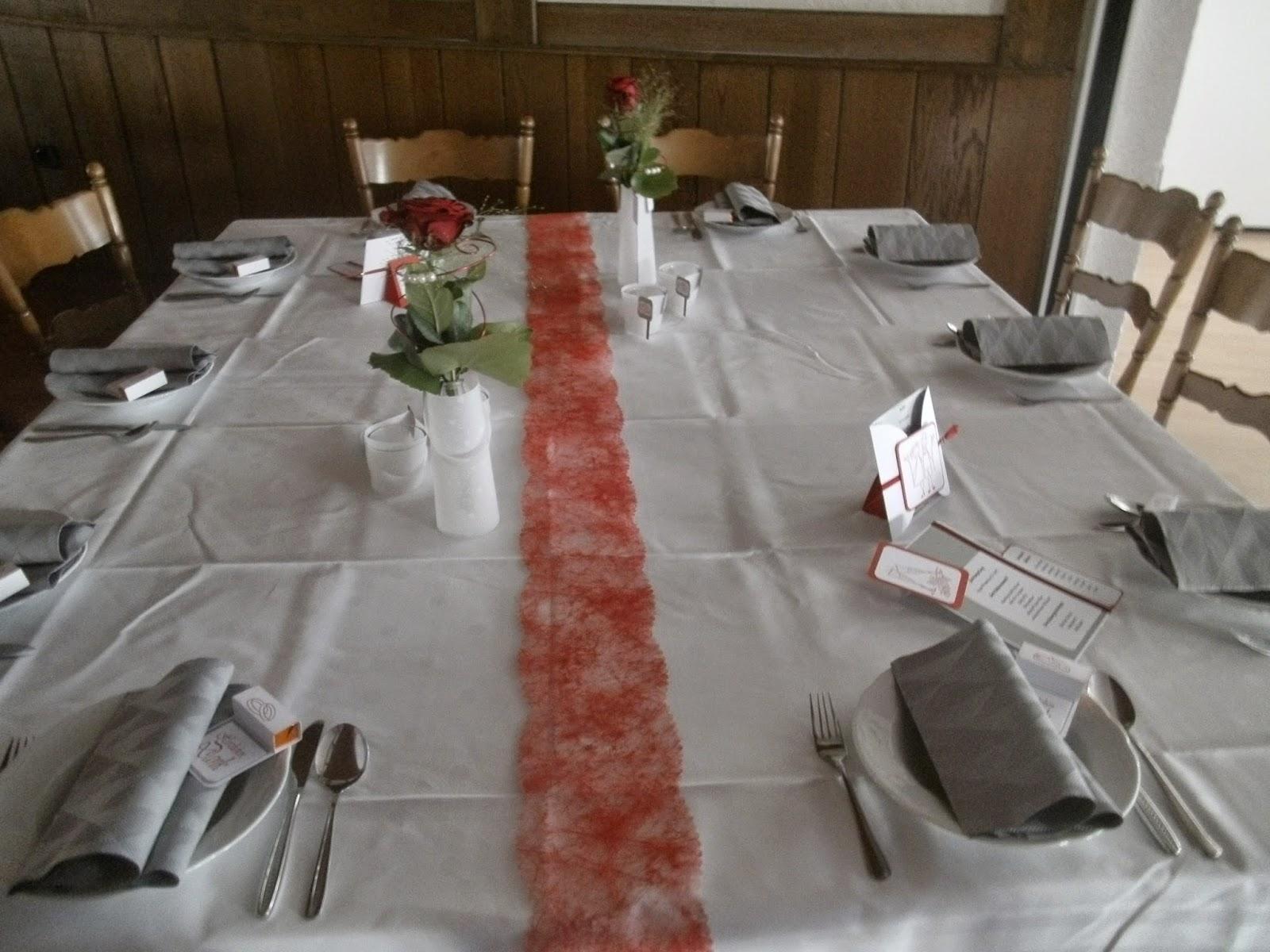 Danielas Kartenwerkstatt Tischdeko Fur Eine Hochzeit