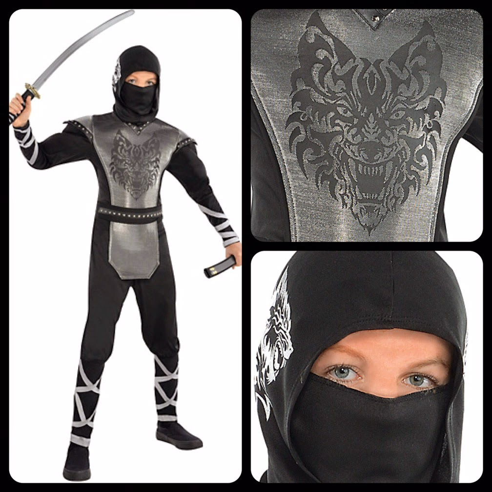 The Keeper's Notes: Howling Wolf Ninja Costume