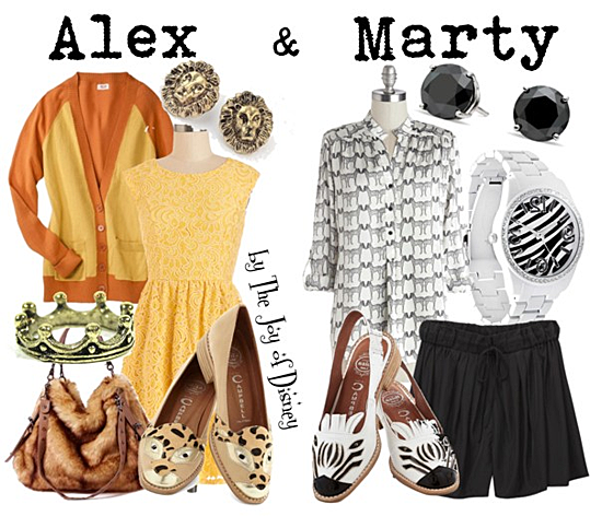 madagascar, alex and marty, madagascar alex, madagascar marty, fashion, fashion blog, madagascar costumes