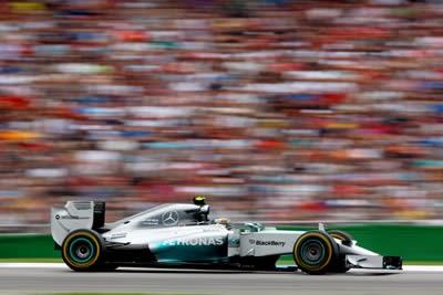 Rosberg vence GP da Alemanha e abre vantagem; Felipe Massa capota carro