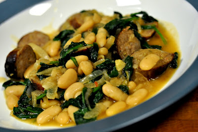 Italian Sausage and White Bean Stew - Photo by Taste As You Go
