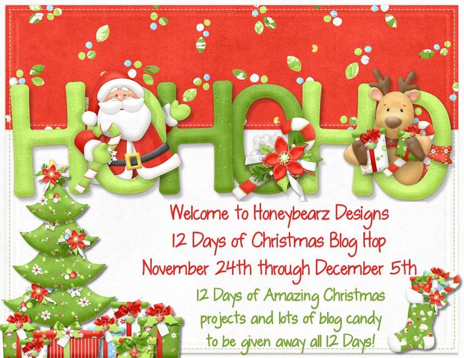 12 Days of Christmas Blog Hop  Nov. 24th - Dec 5th