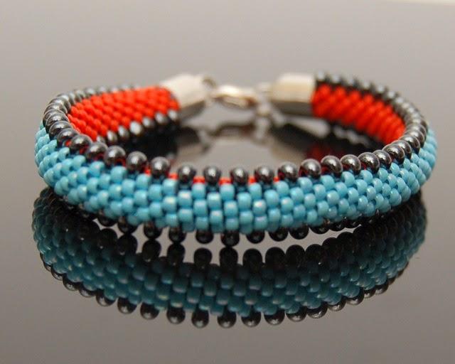 bransoletka koralikowa bead crochet bracelet inati zare 1