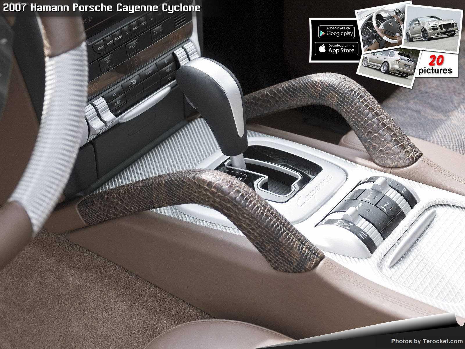 Hình ảnh xe ô tô Hamann Porsche Cayenne Cyclone 2007 & nội ngoại thất