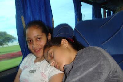 Soninho bom no ônibus