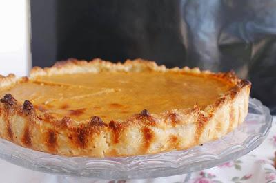 Pie de boniato o batata