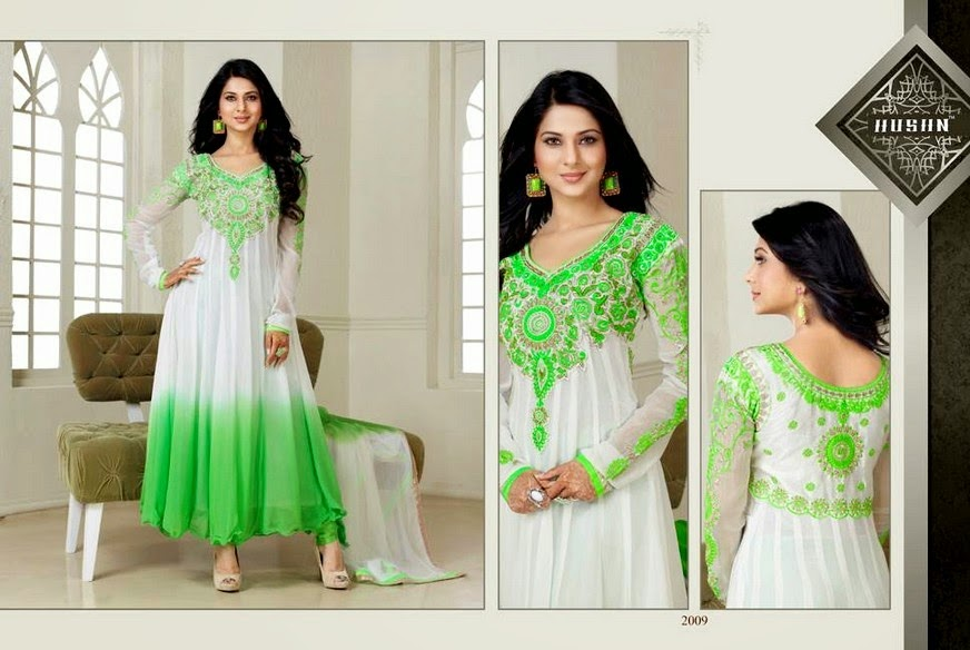 Latest Anarkali Long Frocks 2014