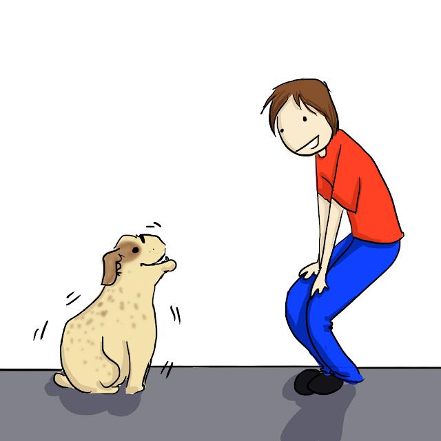 Sammy and Dog Shake Gin Birthday Comic Panel 5