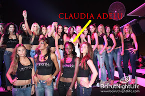 CLAUDIA ADELU AT THE WORLD NEXT TOP MODEL