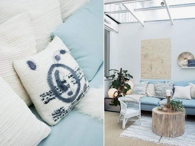 amenajari, interioare, decoratiuni, decor, design interior, interior scandinav, albastru deschis, living