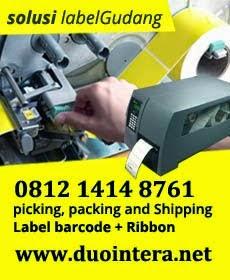 Pusat Label Barcode Gudang