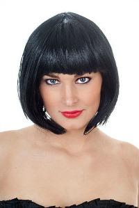 Cleopatra Black Bob Wig