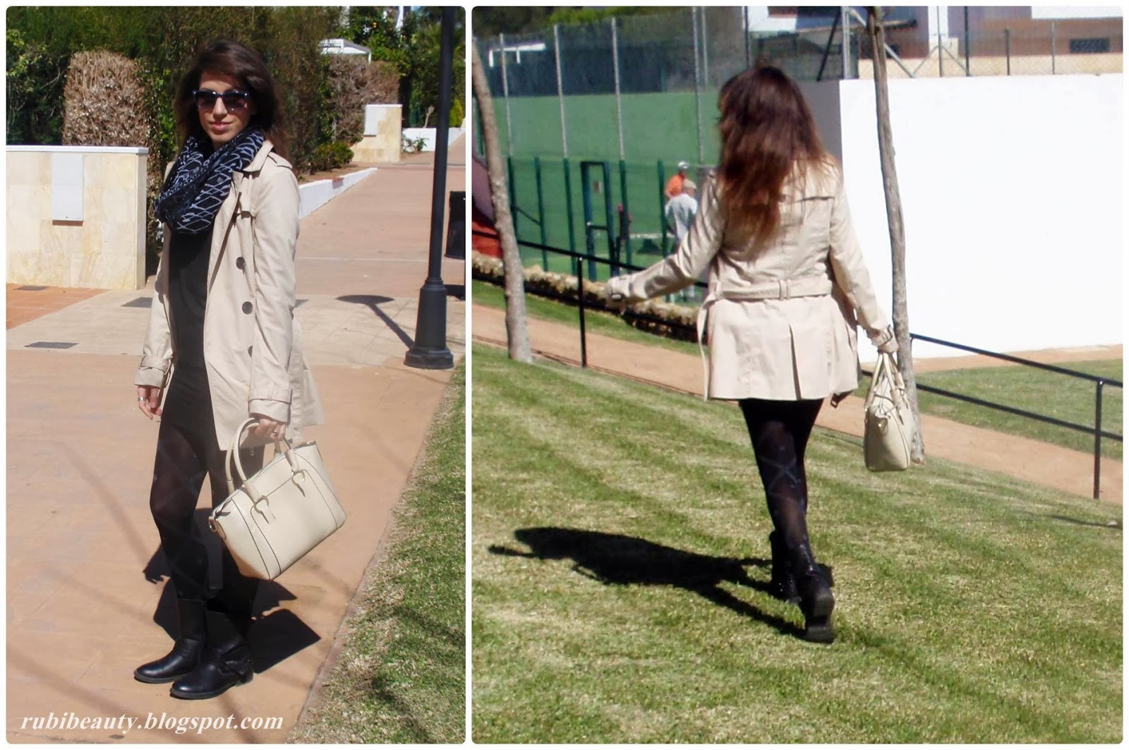rubibeauty outfit samydress stradivarius shana buyincoins handbag trench OOTD