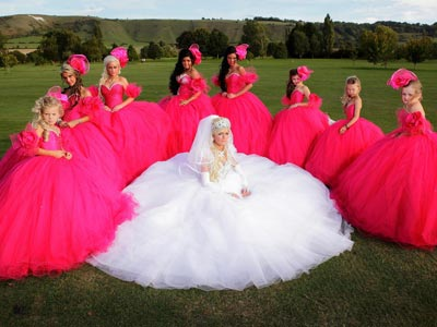 big gypsy wedding dresses sale