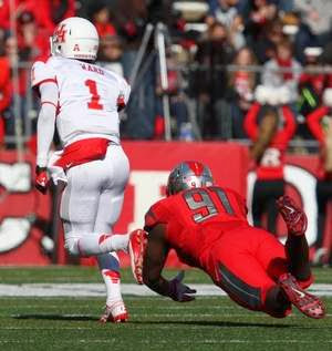 houston destroys rutgers