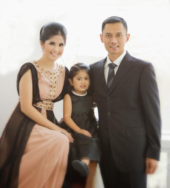 Foto keluarga Annisa Pohan Agus Harimurti Yodhoyono