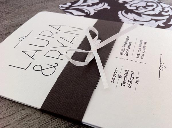 35 Creative Wedding Invitation Designs For Inspiration