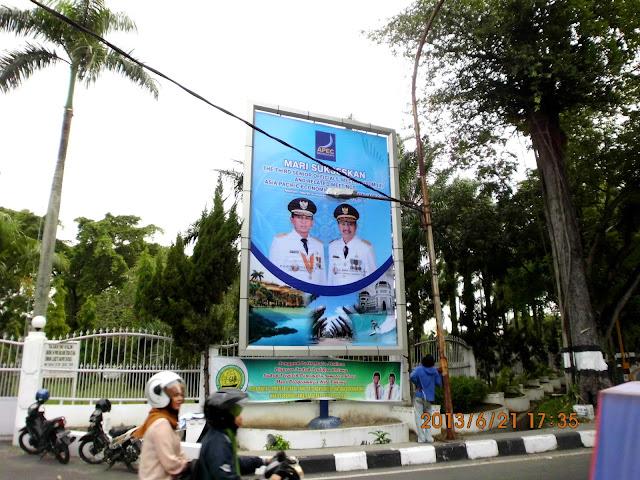 Pemasangan Visual Baliho 4 x 6 meter