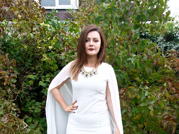 The White Cape Dress