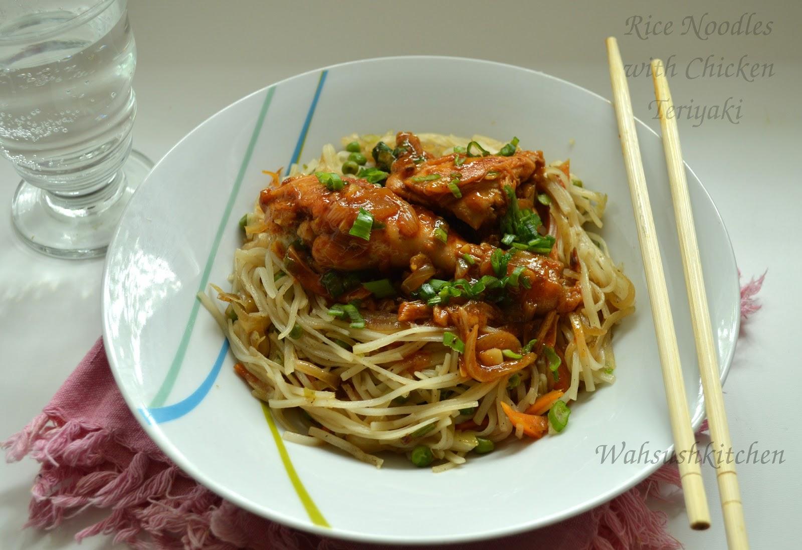Teriyaki Rice Noodles Recipes — Dishmaps