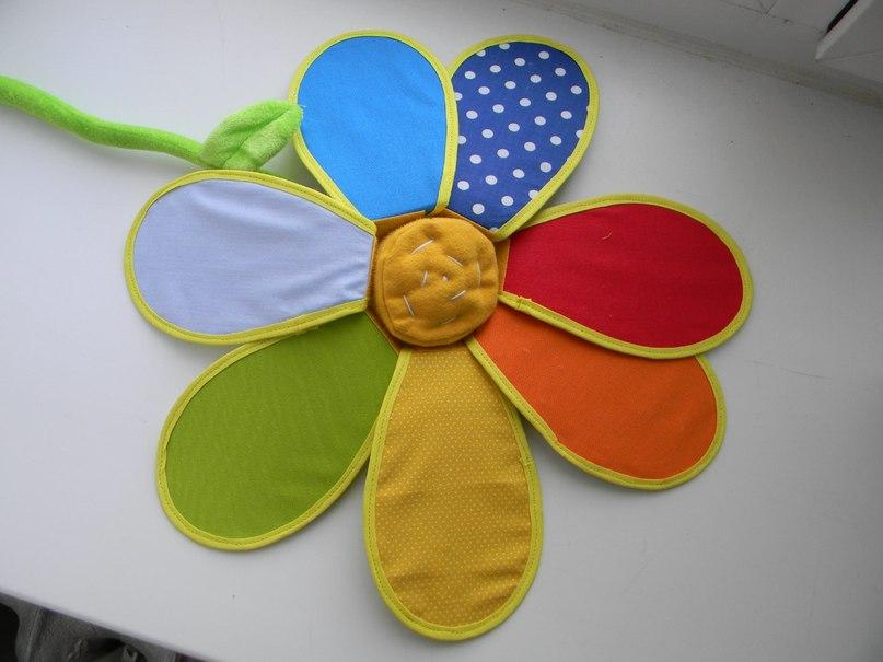 Как и из чего сделать цветик семицветик 654