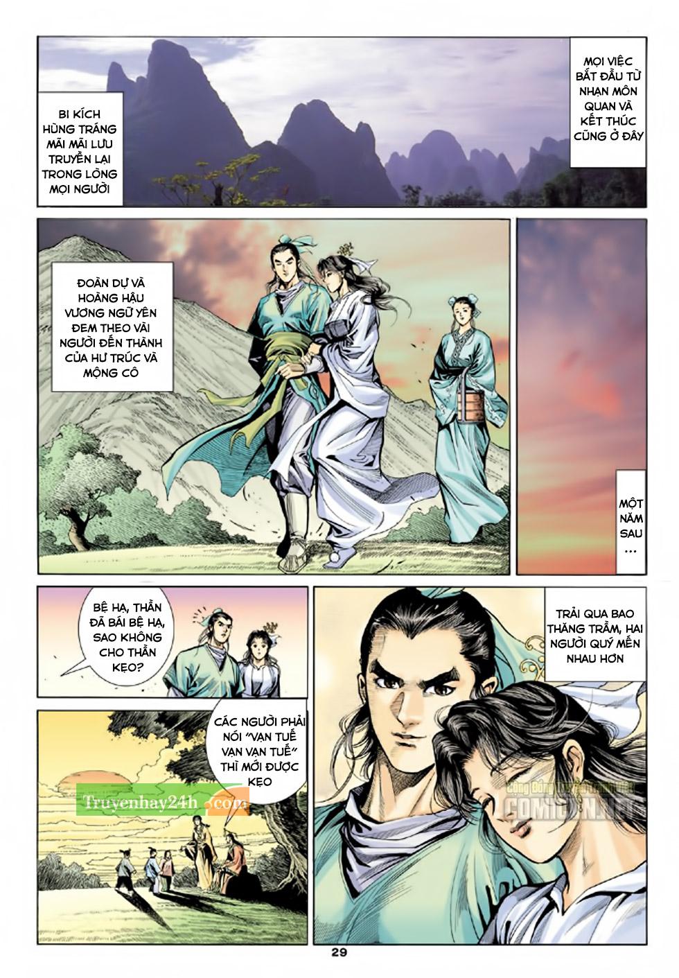 Thiên Long Bát Bộ chap 100 - Trang 30