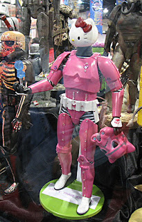 Hello Kitty in Star Wars' pink Stormtrooper Costume