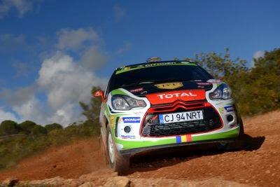 Simone Tempestini si Dorin Pulpea - Citroen DS3 R3 - Portugalia 2014 - Junior WRC
