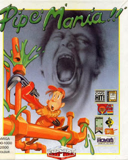Carátula del videojuego Pipe Mania para Amiga (1989)