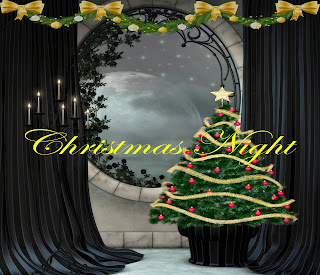 Digital backgrounds, PNG tube files, digital backdrops, digital fantasy backgrounds, digital photography backgrounds, digital scrapbook backgrounds, digital portrait backgrounds, digital background images, Christmas fantasy backgrounds, Christmas Night fantasy backgrounds