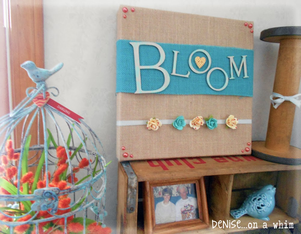 Spring Crafts via http://deniseonawhim.blogspot.com