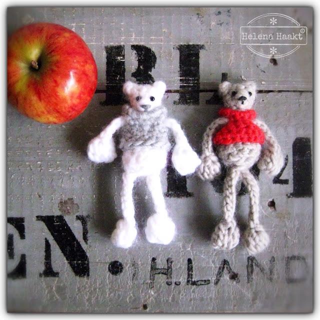 Crochet bear Helena Haakt