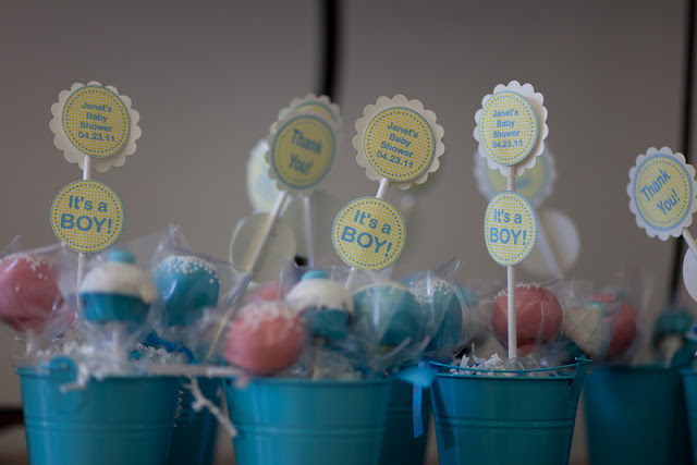 cupcake cake pop oreos with baby blue m ms i also made some duck cake