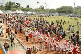 Peringati HAN, DWP-GOPTKI Gelar Karnaval