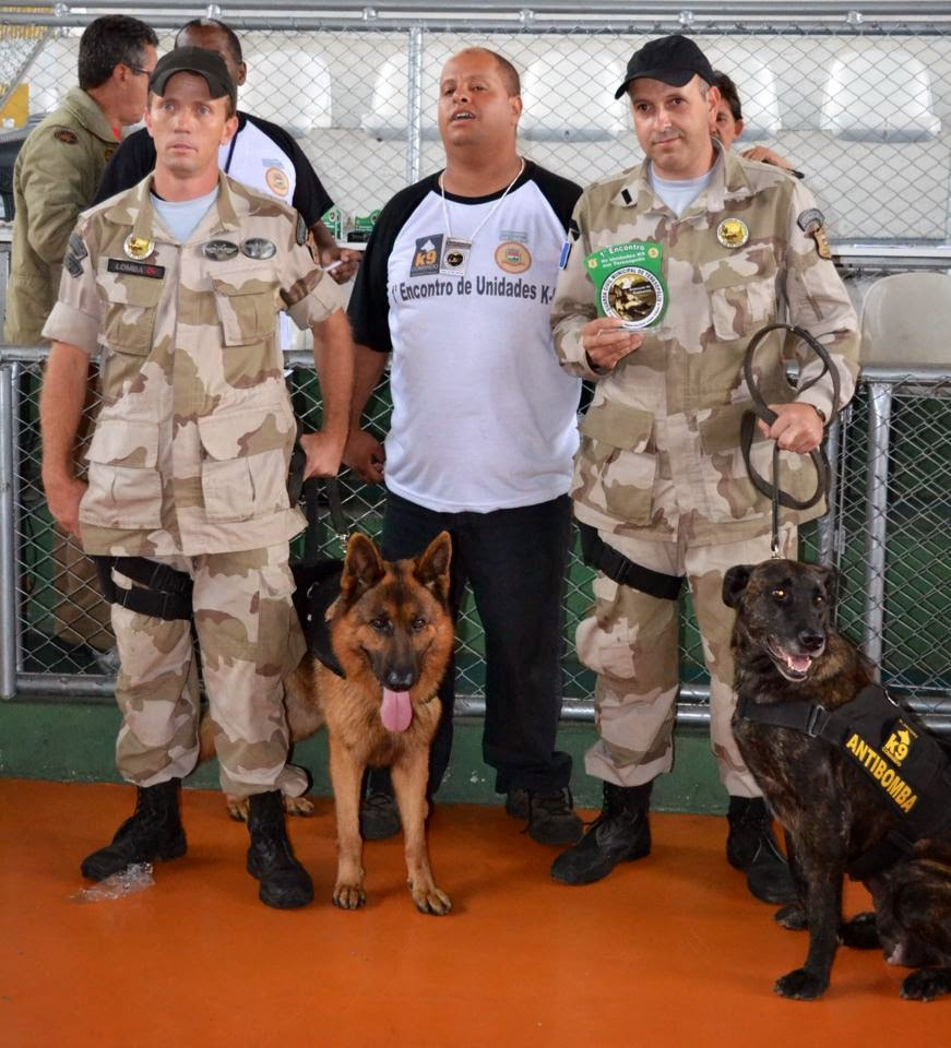 Guarda Municipal de Teresópolis leva o 2º lugar na detecção de explosivos