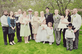 My Entire Family at our Wedding