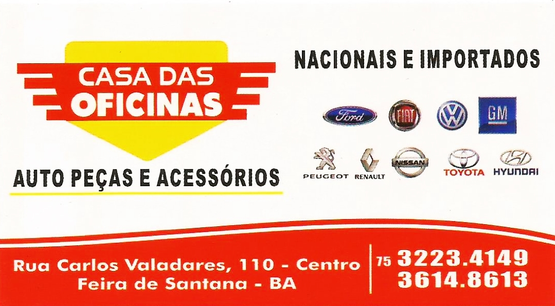 CASA DAS OFICINAS