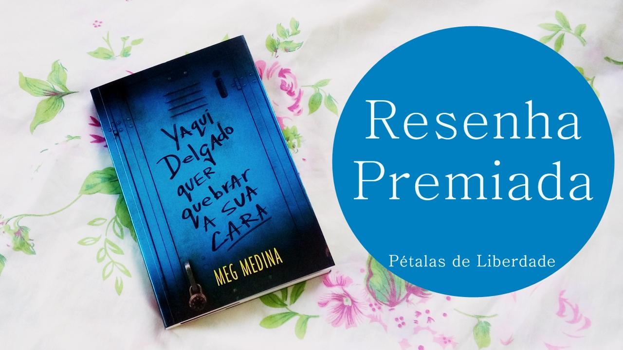 """Sorteio no canal valendo  o livro """"Yaqui Delgado quer quebrar a sua cara"""""""