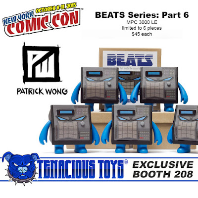 New York Comic Con 2015 Exclusive Beats Series Part 6: MPC 3000 LE Figure by Patrick Wong & Tenacious Toys