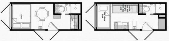 House made of container 005 plans