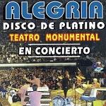 Alegría DISCO PLATINO EN CONCIERTO 1999